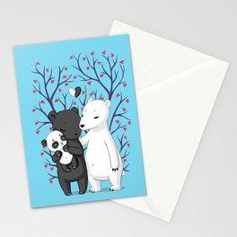 Bear Family Stationery Cards