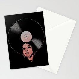 Afrovinyl (Vintage 2) Stationery Cards