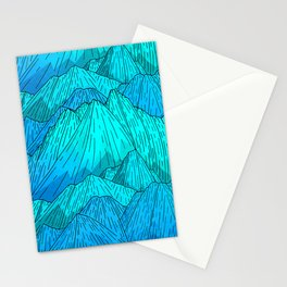 The Cool Blue Mounts Stationery Cards