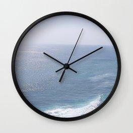 Restless shore (for restless souls) Wall Clock