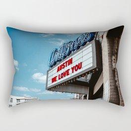 Austin We Love You Rectangular Pillow