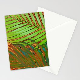 TROPICAL LEAVES POP-ART no5 Stationery Cards