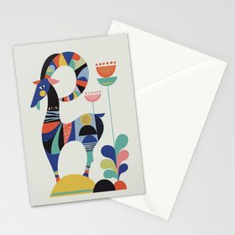 Mrs Goat Stationery Cards