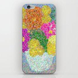 Zinnia Bouquet iPhone Skin