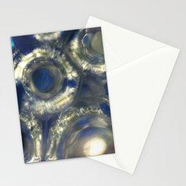 Splintered Sapphire Stationery Cards