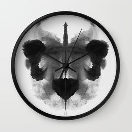 Form Ink Blot No. 5 Wall Clock