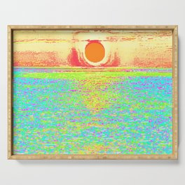 Peach Pastel Sunset - Destin Serving Tray