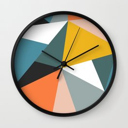 Modern Geometric 36 Wall Clock