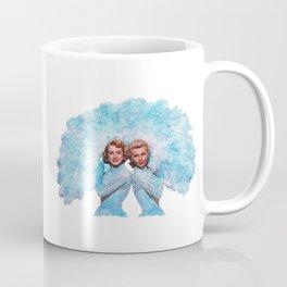 Sisters - White Christmas - Watercolor Coffee Mug