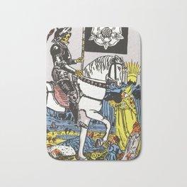 Death Tarot Card Badematte