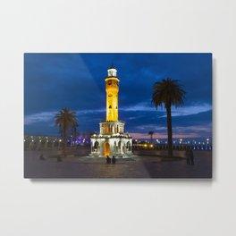 Clock tower. Metal Print