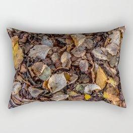 Fallen autumnal leaves Rectangular Pillow