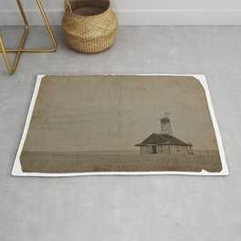 lifeguard hut Rug