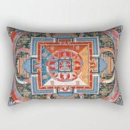 Mandala of Jnanadakini Rectangular Pillow