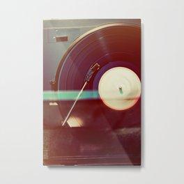 Spin it Metal Print