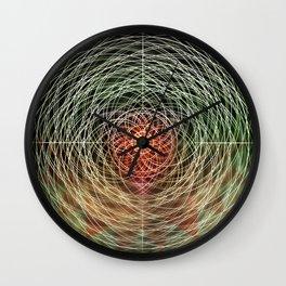 hypermandala Wall Clock