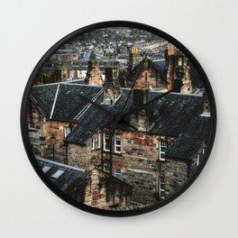 scottish houses in edimburgh Wall Clock