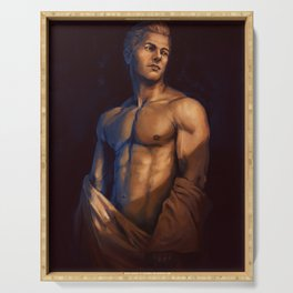 Cullen nude study dragon age inquisition templar Serving Tray