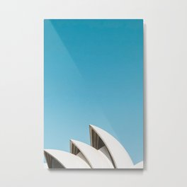Sydney Opera House | Australia Minimalist Travel Photography Metal Print