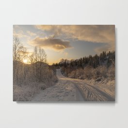 Norway or Narnia Metal Print