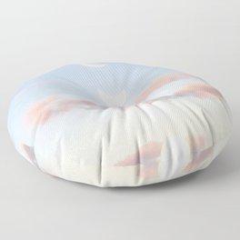 Delicate Moonrise Floor Pillow