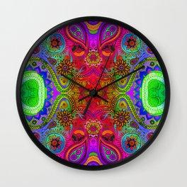 Seed 2 the Soul/ Worn Wall Clock