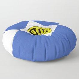 MMPR Blue Coin Floor Pillow