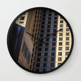 Life in Right Angles Wall Clock