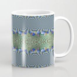 Spiraling Tropical Fish Coffee Mug