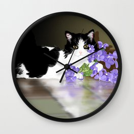 Cherokee Kitty Wall Clock