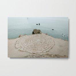 Lands End Labyrinth, San Francisco Metal Print