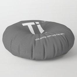 Titanium Floor Pillow