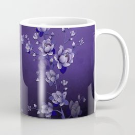 Moon Flower Magic Garden Coffee Mug