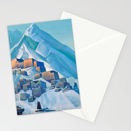 Nicholas Roerich - Tibet Himalayas - Digital Remastered Edition Stationery Cards