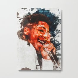 Youngboy Never Broke Again Metal Print