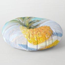 Aloha Pineapple Beach Kanahā Maui Hawaii Floor Pillow