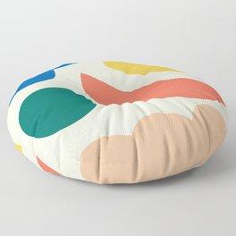 Floating lands Floor Pillow