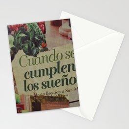 Cuando se cumplen los sueños - Vintage Collage  Stationery Cards