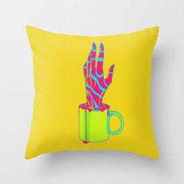 Experimental Brew Throw Pillow