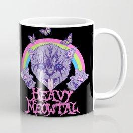 Heavy Meowtal Coffee Mug