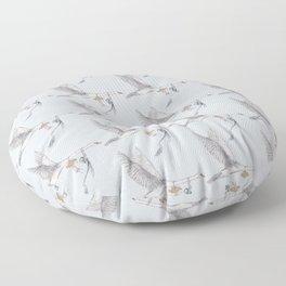 The Mute Swan (Pattern) Floor Pillow
