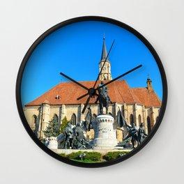 cluj napoca church Wall Clock