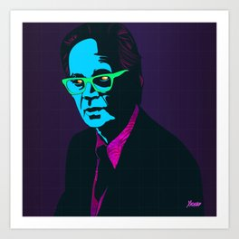 """B.F. Skinner"" Portrait Art Print"