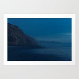 Black's Beach at Dusk Art Print