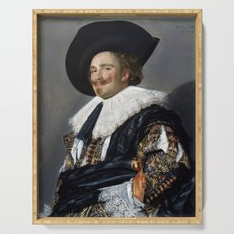 Frans Hals Laughing Cavalier Serving Tray