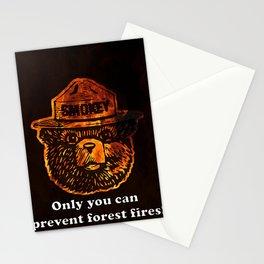 Smokey the Bear Stationery Cards