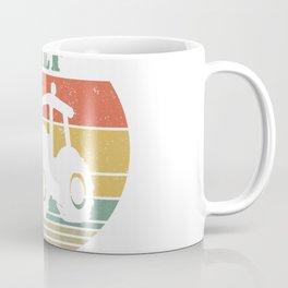 MILF Man I Love Farming Funny Retro Vintage Farmer Gifts T-Shirt Coffee Mug