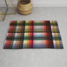 Mujina - Colorful Decorative Abstract Art Pattern Rug