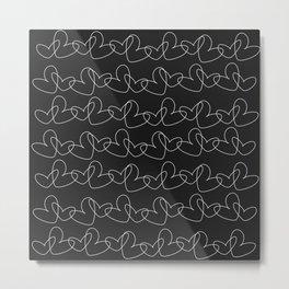Chain love Metal Print