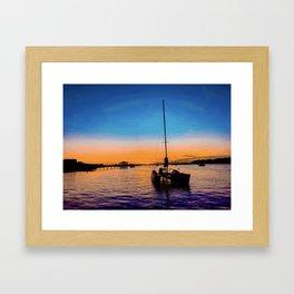 ámame Framed Art Print
